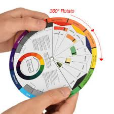 Details About Twelve Colors Pigment Color Wheel Chart Mixing Guide For Tattoo Makeup Permanent