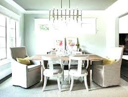 dining room light height chandelier above table amazing choosing dinin dining room chandelier height
