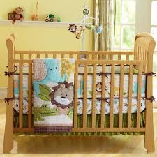 7pcs baby bedding crib cot quilt set nursery per sheet dust ruffle blanket