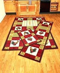 3 piece rug set menards kitchen country rooster of accent runner and area functional decorative sets 3 piece rug set