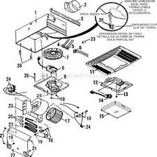 nutone heater fan light wiring diagram images broan 655 parts list and diagram ereplacementparts