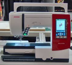 Janome 9900 Sewing And Embroidery Machine