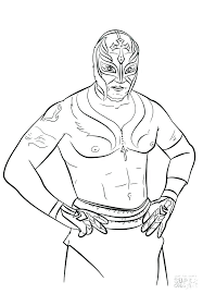 Wwe Colouring Coloring Page Best Coloring Pages Images Colouring