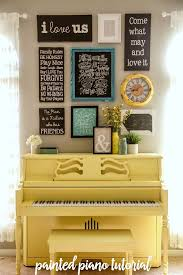 how to paint your piano it s easier than you think tutorial on lilluna