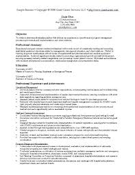Liaison Resume Sample Resume Examples 5 Liaison Officer Resume