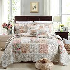 king size coverlet set h m s remaining luxury cotton bedspread patchwork quilt queen sets comforters