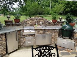 Outdoor Barbecue Kitchen Designs Big Green Egg Outdoor Kitchen Design Outofhome