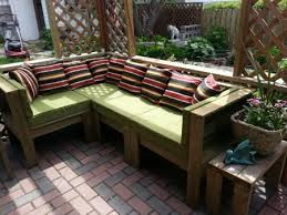 Beautiful Design How To Make Outdoor Furniture Out Of Pallets From Cushions  Covers