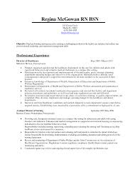 Example Oncology Nurse Resume Templates Rn Duties Waitress Samples