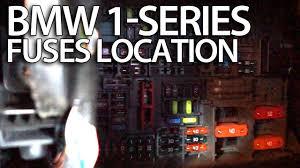 where are fuses in bmw 1 series e81 e82 e87 e88 fusebox where are fuses in bmw fusebox location