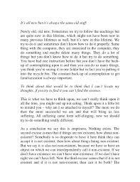 inseperability of samsara and nirvana 12