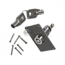 asec swr0440 garage door handle electric key switch