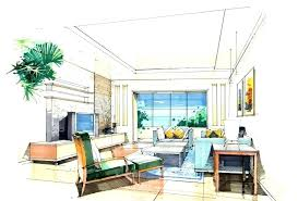 Interior Designs Sketches Professional Floor And Furniture Plans ...