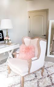 pink home office design idea. Fashion Blogger\u0027s Home Office 11 Pink Design Idea N