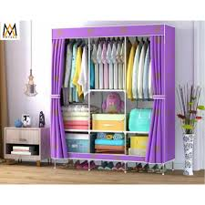 king size home wardrobe clothes storage and organization big size 88130 purple