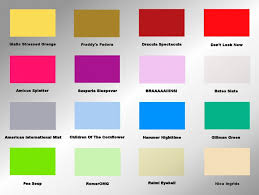 Awesome Paint Color Mood Chart Photos - Best idea home design .