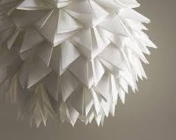 pendant lighting shades only. the brooks pendant light white spiky origami paper hanging lamp shade only lighting shades only