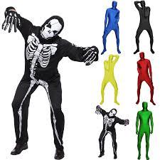full second skin suit lycra zentai suit costume gimp fancy dress party