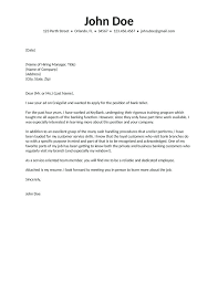 Cover Letter Center Workbloom Career Bank Teller Resume Examples