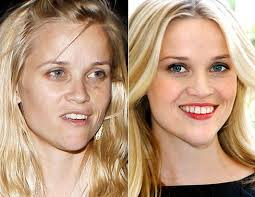 reese witherspoon with and without makeup if you want to feel like a celeb with your own personal makeup artist contact me for a free makeover in central