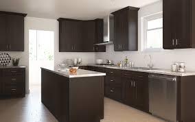dark chocolate shaker ready to assemble kitchen cabinets for kitchen chocolate brown cabinets
