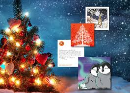 Christmas Cards Images Pack Of 11 Assorted Christmas Cards Ocd Uk