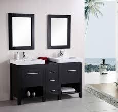 Bathroom vanity design Floating Design Element New York Double Integrated Porcelain Dropin Sink Vanity Set 60 Decor Snob 40 Bathroom Vanity Ideas For Your Next Remodel photos