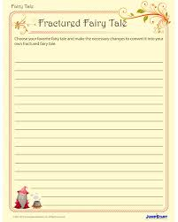 Fractured Fairy Tales - Printable Creative Writing Worksheet for ...