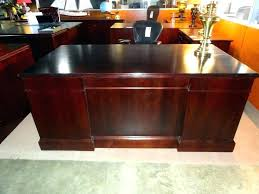 office desk used executive desks for within ideas with hutch storage