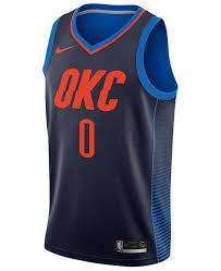 Mens Russell Westbrook Oklahoma City Thunder Statement Swingman Jersey