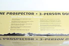 rugged exposure prospector 7ft x 7ft tent