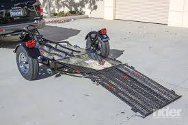 kendon stand up motorcycle trailer