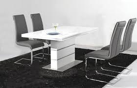 High Gloss Dining Table Arizona High Gloss White Dining Table Vbayuk Newton White High