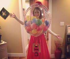 gumball machine homemade costumes
