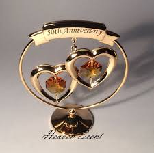 golden wedding anniversary gifts