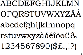 bookman typeface identifont bookman old style