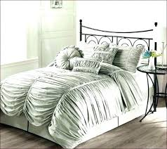ruched bedding light grey duvet cover king white next