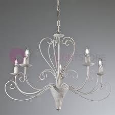 the court chandelier candelabra rustic iron 5 light
