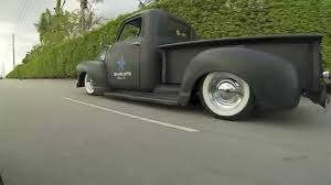 Bagged 49 Chevy Truck, Patina Bagged Air Ride Truck - YouTube