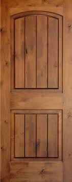 wood interior doors. Knotty Alder | Arch 2-Panel Doors With V-Grooves Homestead Wood Interior