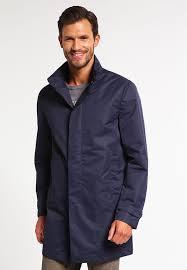 enthousiasme wisdom men pier one short coat dark blue largest fashion