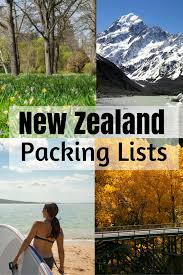 Packing Lists 9 New Zealand Packing Lists By Bloggers - Tiki Touring Kiwi