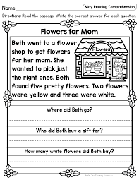Phonics teaches a student to read by using the sounds of the here you'll find a collection of consonant blend worksheets for use at home or in the classroom. I Hope That Your Students Will Enjoy These No Prep May Themed Reading Pas Reading Comprehension Passages Reading Comprehension Worksheets Reading Comprehension