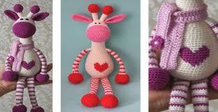 Crochet Giraffe Pattern New Adorable Hearty Crocheted Giraffe [FREE Crochet Pattern]