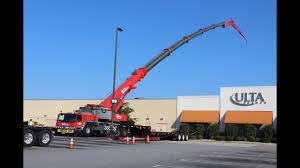 Long Reach With The Liebherr 265 Ton Crane
