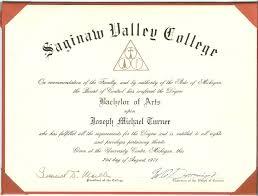 College Degree Certificate Templates Mandegar Info