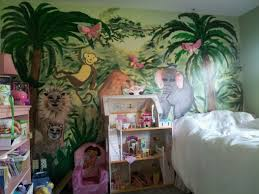 Jungle Decoration Interior Design Childs Room Decorated Inungle Theme Ideas About