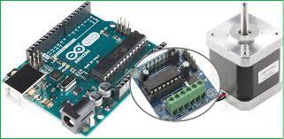 stepper motor arduino interface