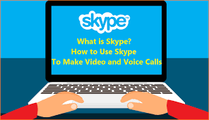 What Is Skype How To Use Skype To Make Video And Voice