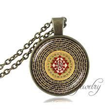 whole buddhist sri yantra pendant sri yantra mandala necklace sacred geometry sri yantra jewelry buddhist necklace women jewelry silver pendants silver